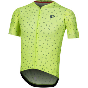 PEARL iZUMi P.R.O. Mesh Jersey Herre screaming yellow/navy paisley